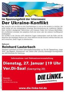 Veranstaltung Ukraine