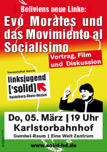 Plakat Bolivien