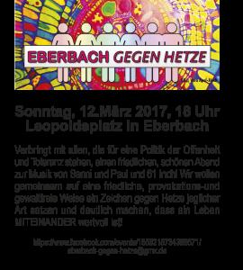Eberbach gegen Hetze