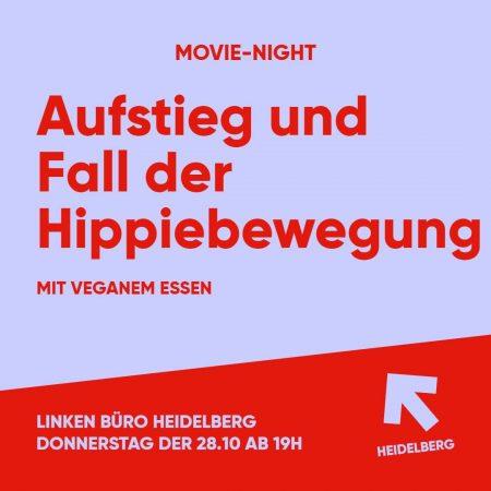 Movie Night: Aufstieg und Fall der Hippiebewegung